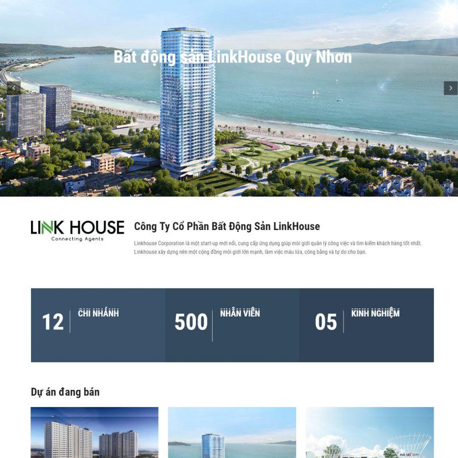 Sàn giao dịch bất động sản LinkHouse Quy Nhơn