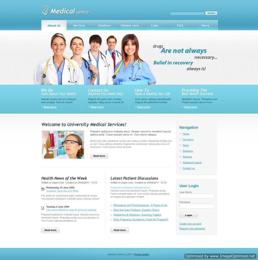 Thiết kế website bệnh viện Quy Nhơn
