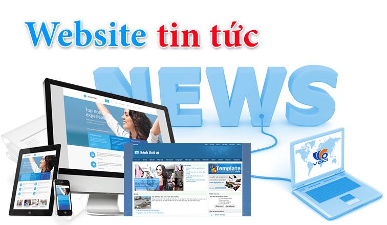 Thiết kế web tin tức Quy Nhơn