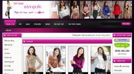 web thời trang Quy Nhơn