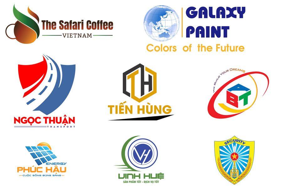 Một số mẫu logo của doanh nghiệp